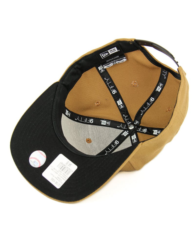 New Era Yankees Mix Original Fit Snapback Wheat/black