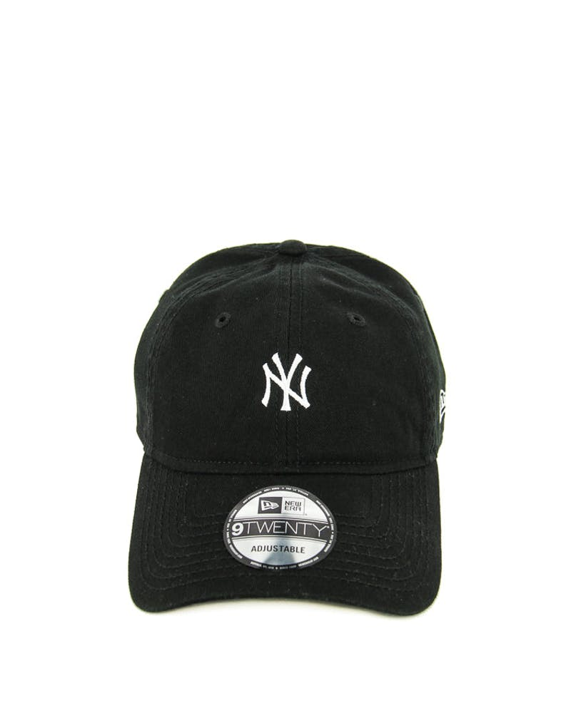 New Era Yankees 920 Washed Mono ST Black/white