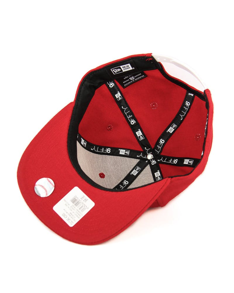New Era Yankees League Original Fit Snapback Red/white