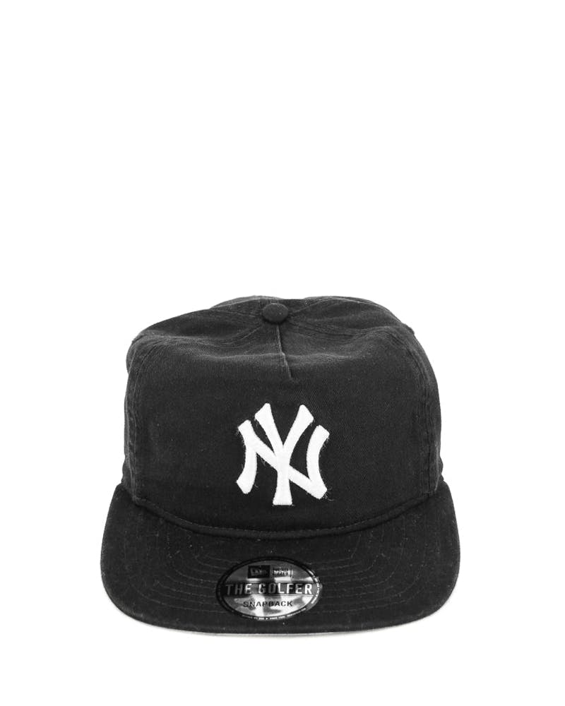 New Era Yankees Washed A-frame Snapback Black/grey