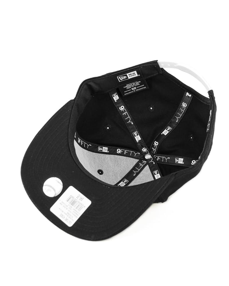 New Era Yankees Logo Original Fit Snapback Black/white