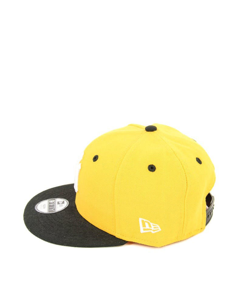 New Era Youth Yankees 2 Tone Snapback Gold/black