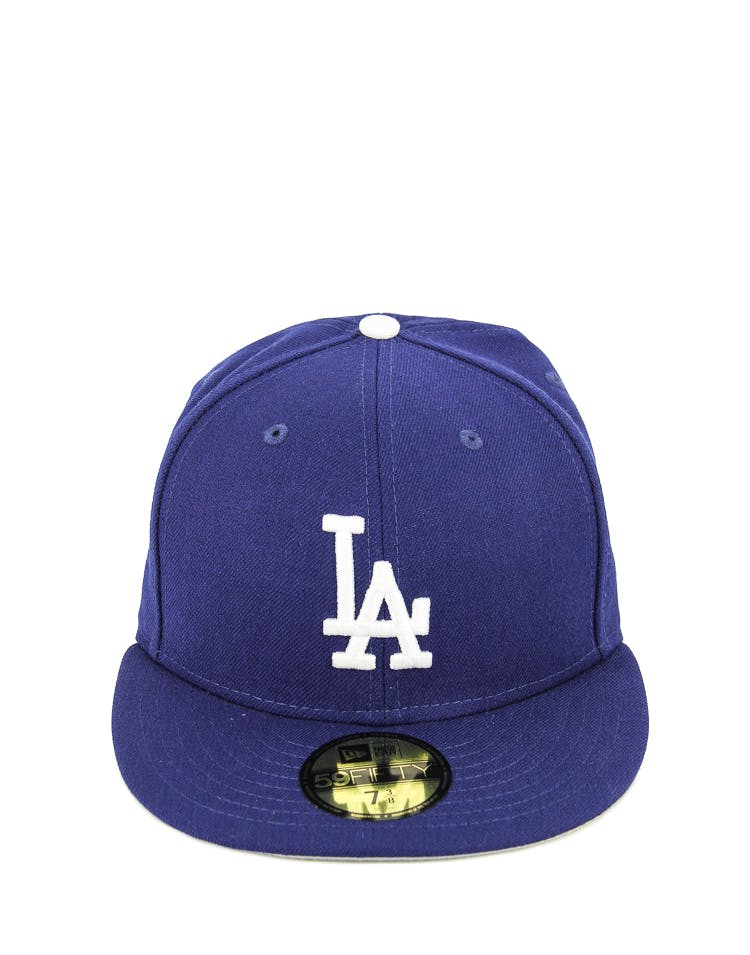 New Era Dodgers Fashion Fitted Royal/grey/white