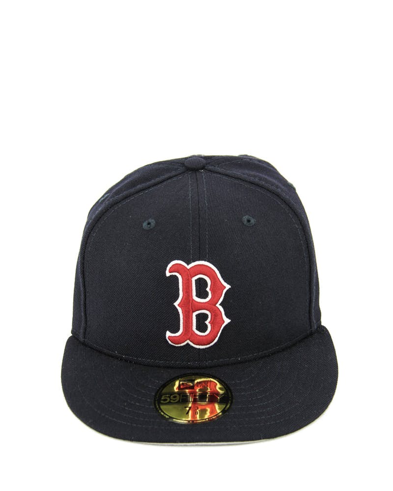 New Era Red Sox Fashion Fitted Navy/red/grey