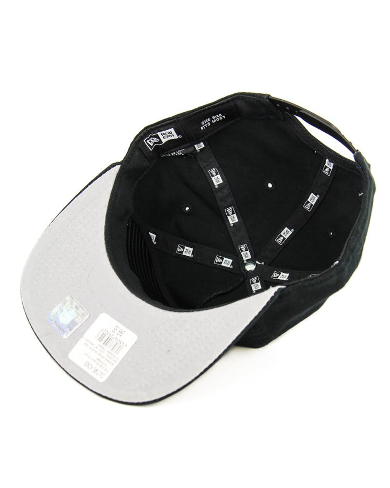 New Era Raiders Logo AF Washed Snapback Black/grey