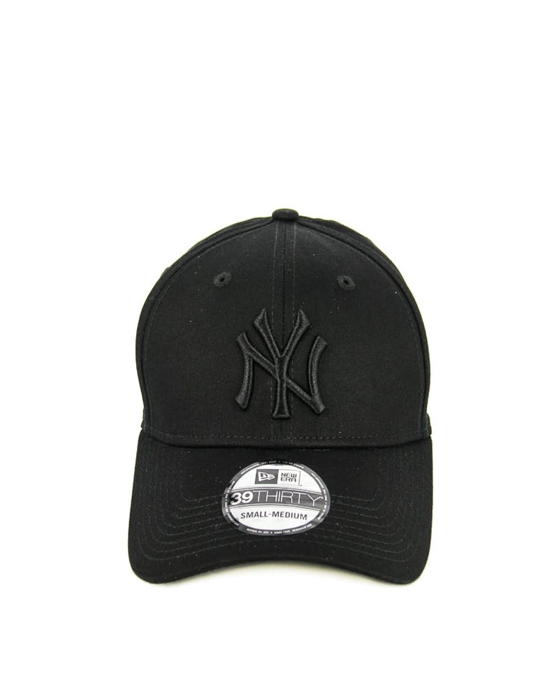 New Era Yankees 3930 Cotton Stretch Black/black