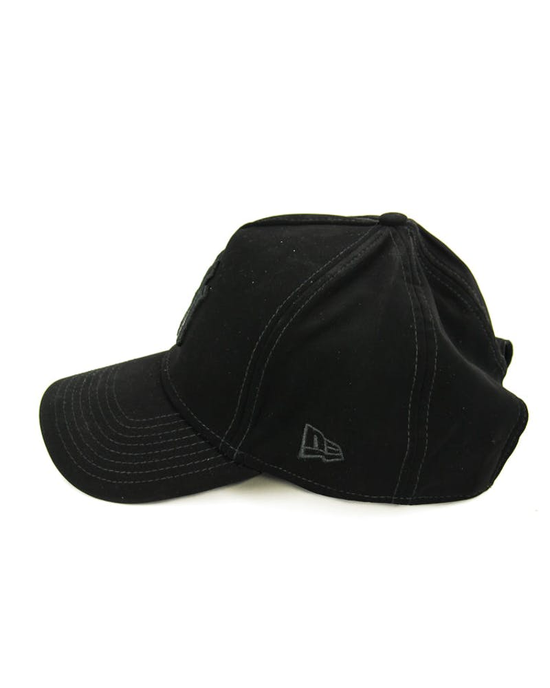 New Era Yankees Tonal A-frame Snapback Black