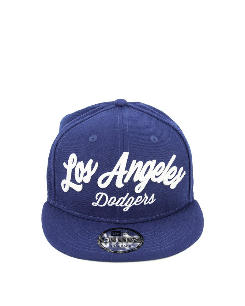 New Era Dodgers City Stitchers Snapback Royal/white