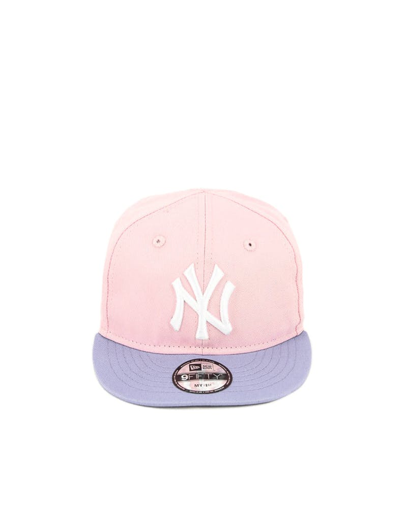 New Era MY 1st Yankees 2 Tone Snapback Pink/purple