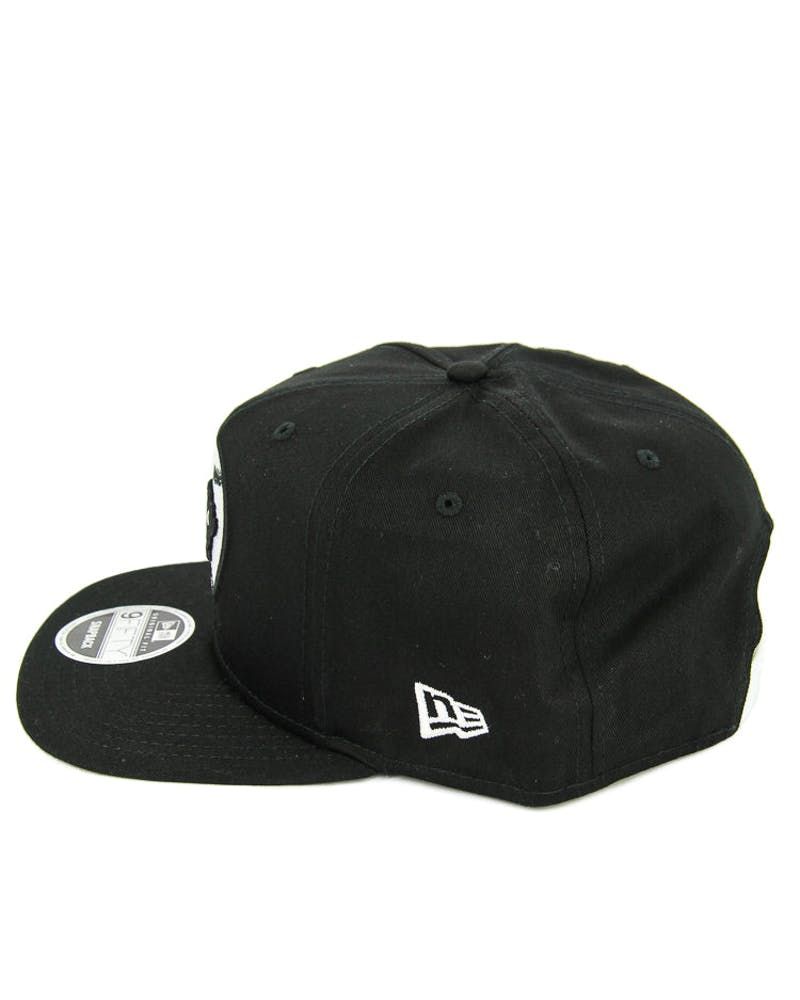 New Era Bisons Logo Original Fit Snapback Black/white