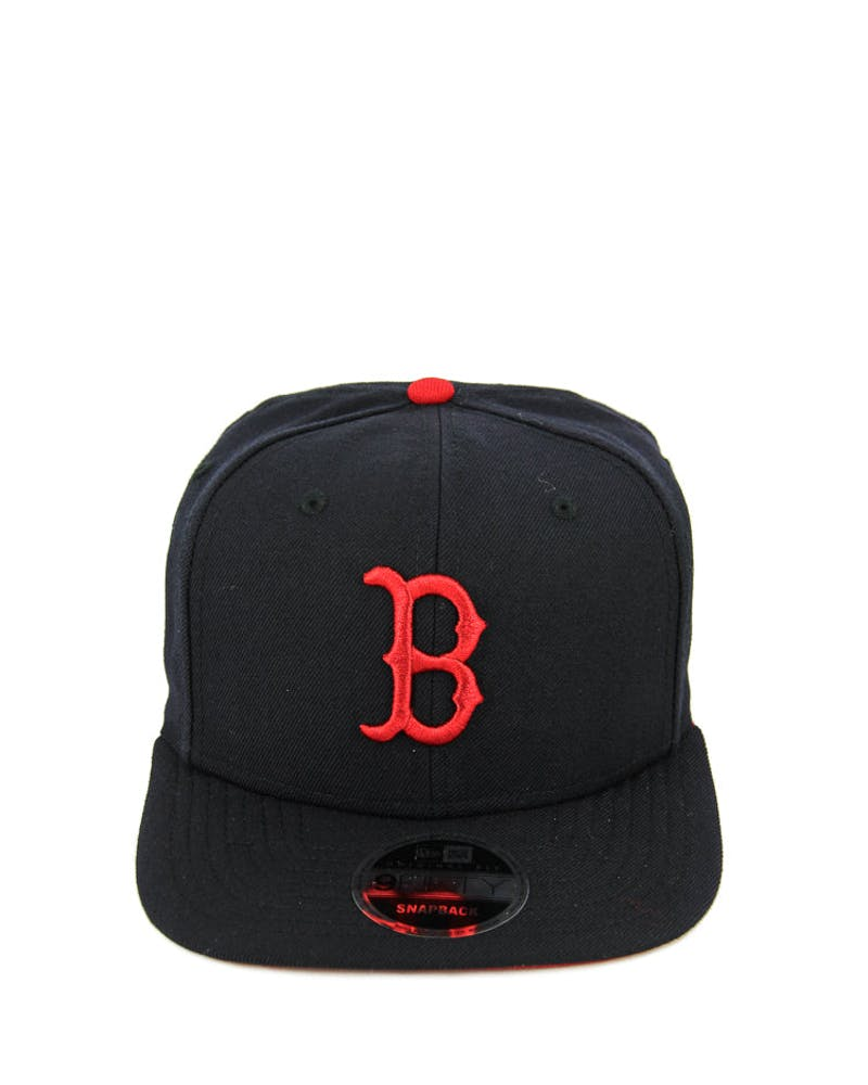 New Era Red Sox Original Fit Snapback Navy/scarlet