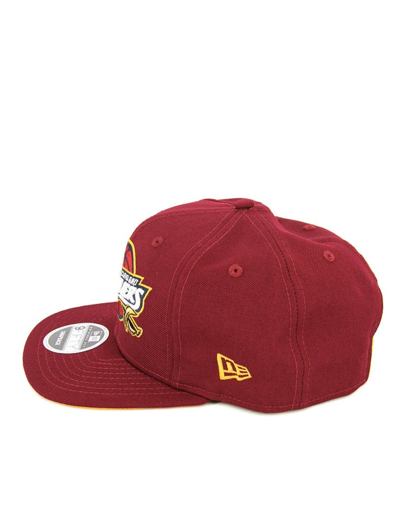 New Era Cavaliers Original Fit Snapback Cardinal/gold