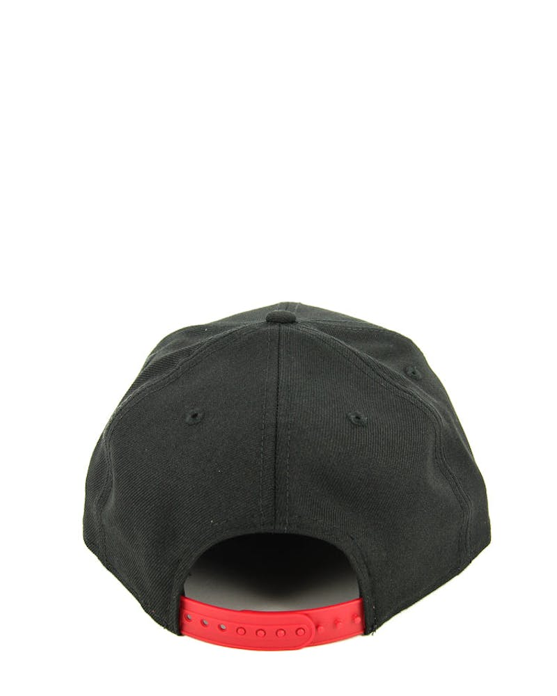 New Era Raptors Original Fit Snapback Black/scarlet