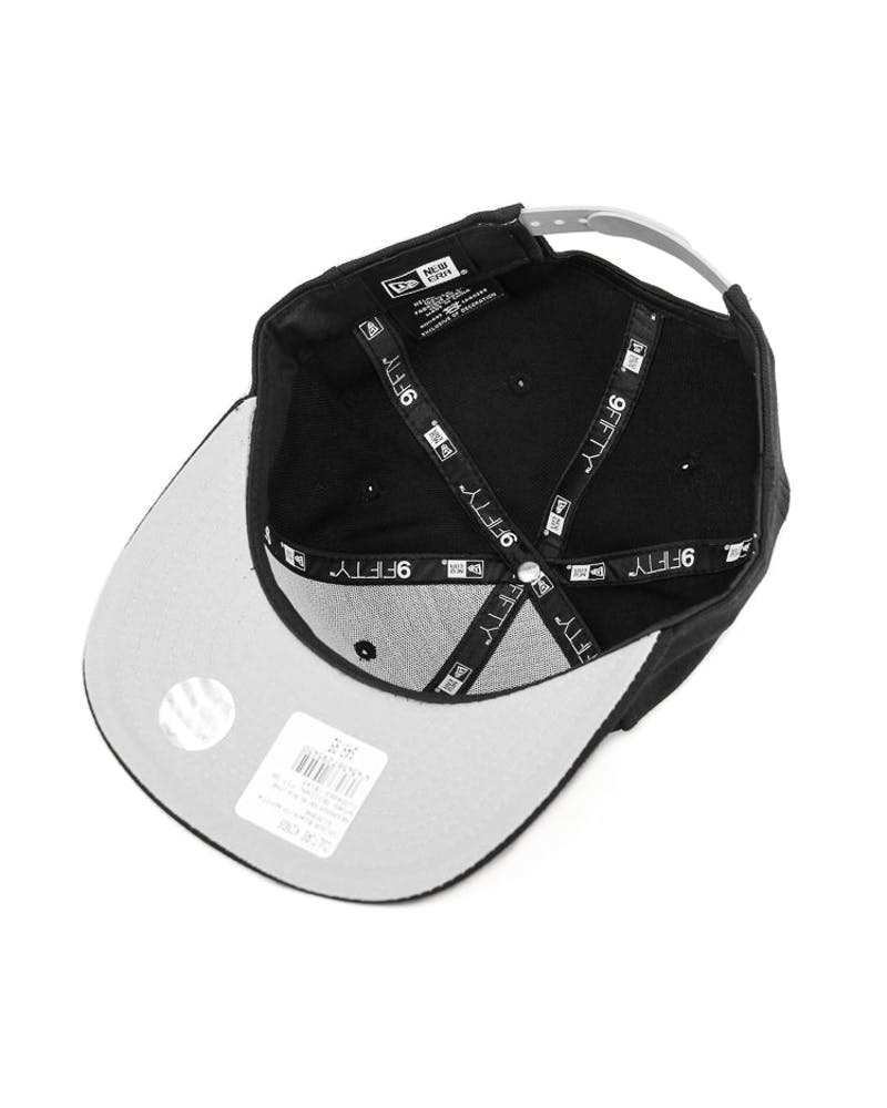 New Era Spurs Original Fit Snapback Black/graphite