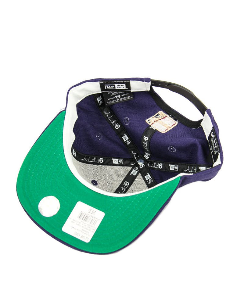 New Era Raptors 90's Original Fit Snapback Purple/green