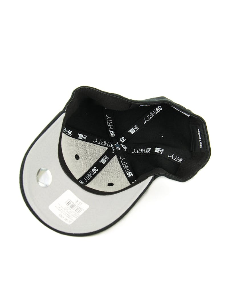New Era Spurs Logo 3930 Black/graphite