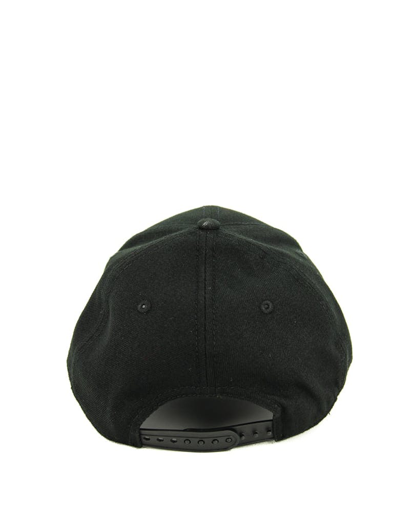 New Era Clippers 9FORTY Logo Snapback Black