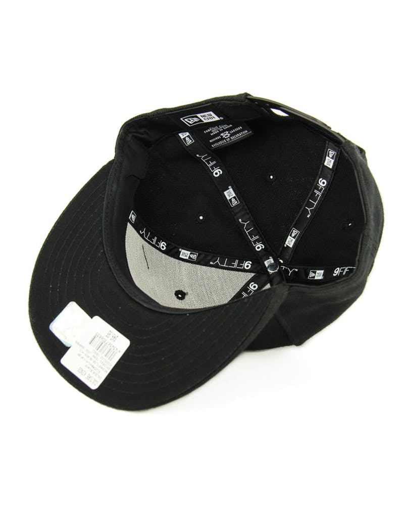 New Era Raiders Team Logo Snapback Black