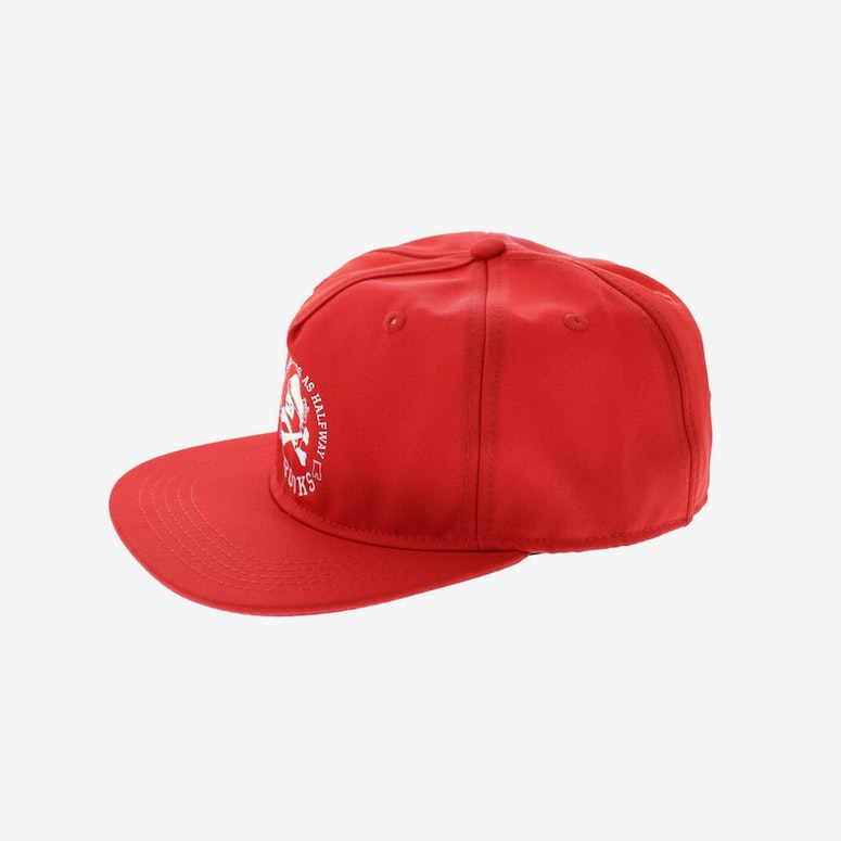 Crooks & Castles Corsica Snapback Red