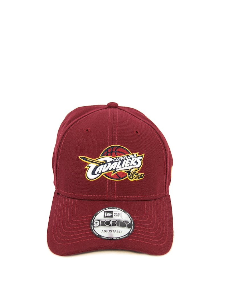 New Era Cavaliers 9FORTY Velcro Back Cardinal