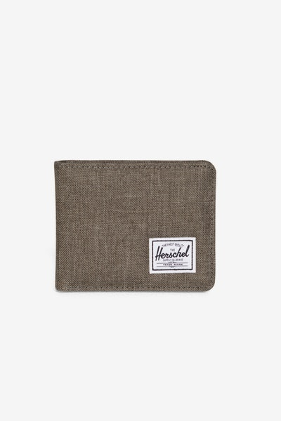 Royal Crosshatch Wallet Olive