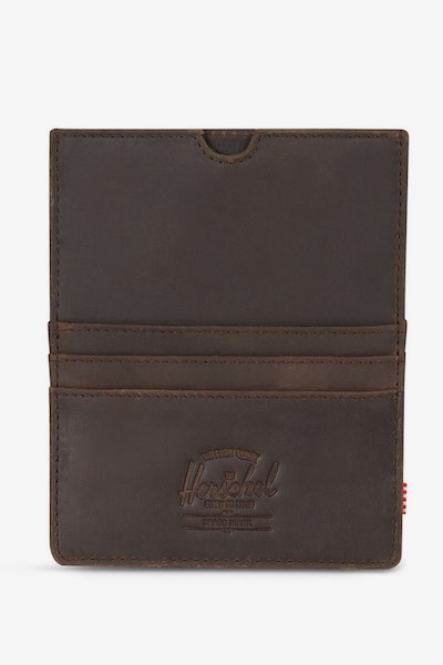 Herschel Bag CO Eugene Leather Passport Wallet Nubuck