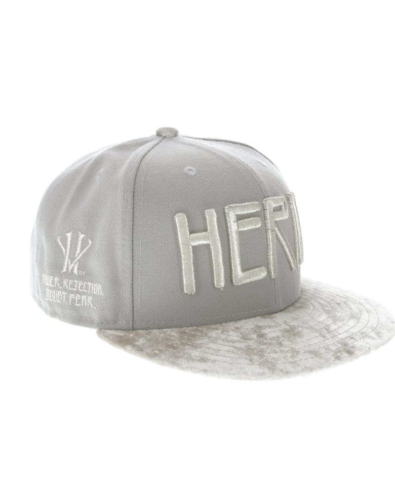New Era Kobe Bryant Hero Villain 9FIFTY Basic Snapback Grey