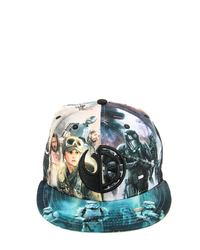 New Era Star Wars Rogue Fitted Black