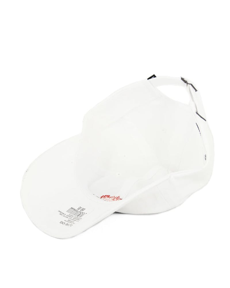 Thrasher Curved Strapback White