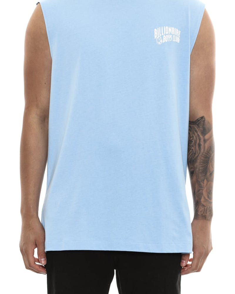 Billionaire Boys Club Small Arch Logo Muscle Tank Blue/white