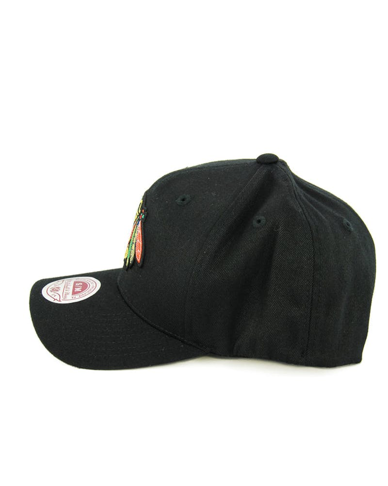 Blackhawks Logo 110 Flexfit Black