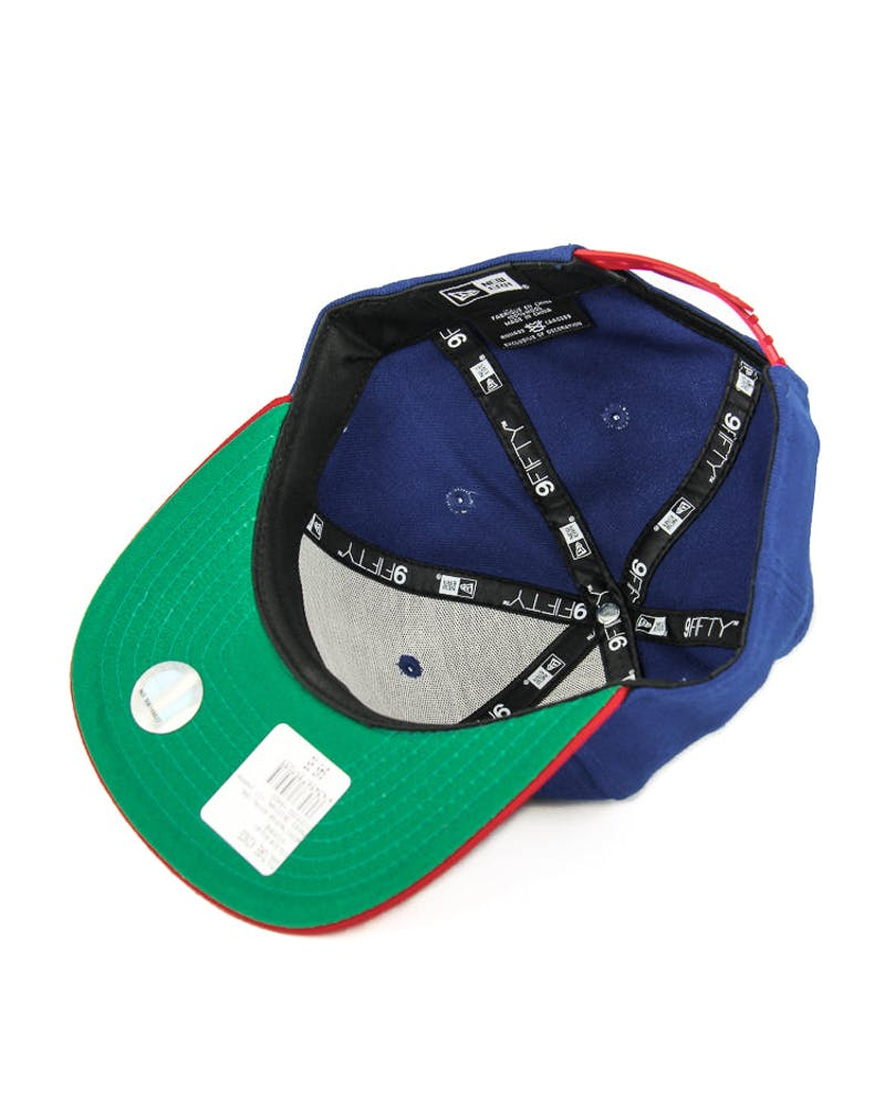 New Era 76ers Original Fit Snapback Royal