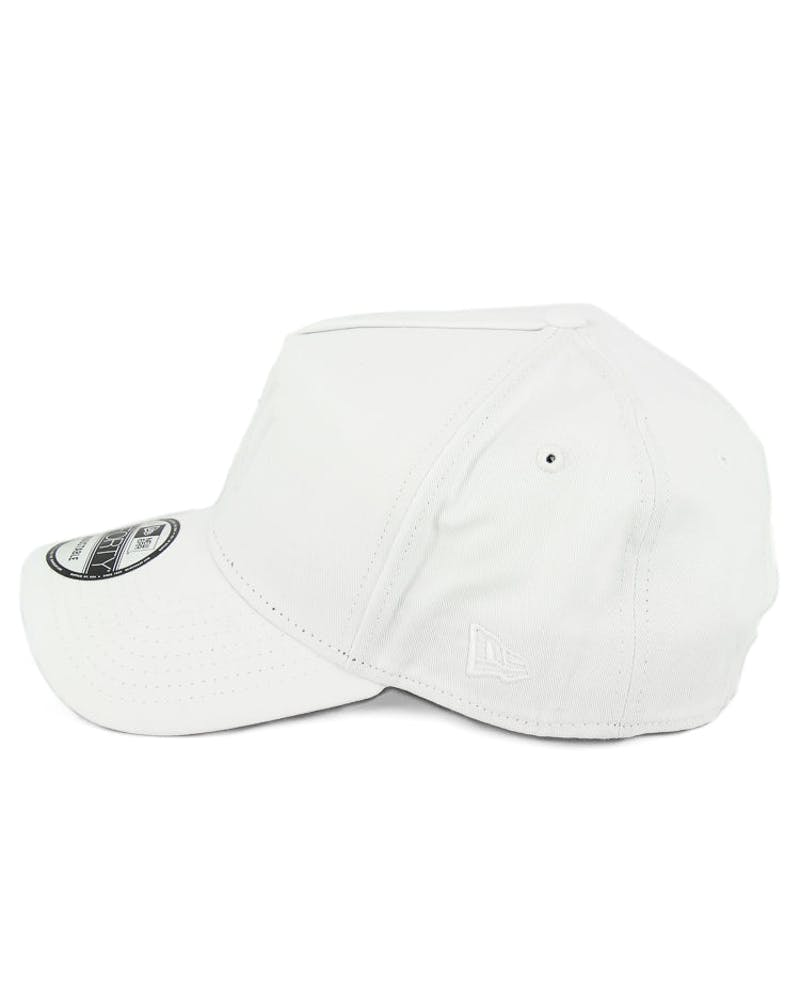 New Era Yankees 9FORTY A-Frame Gel Snapback White