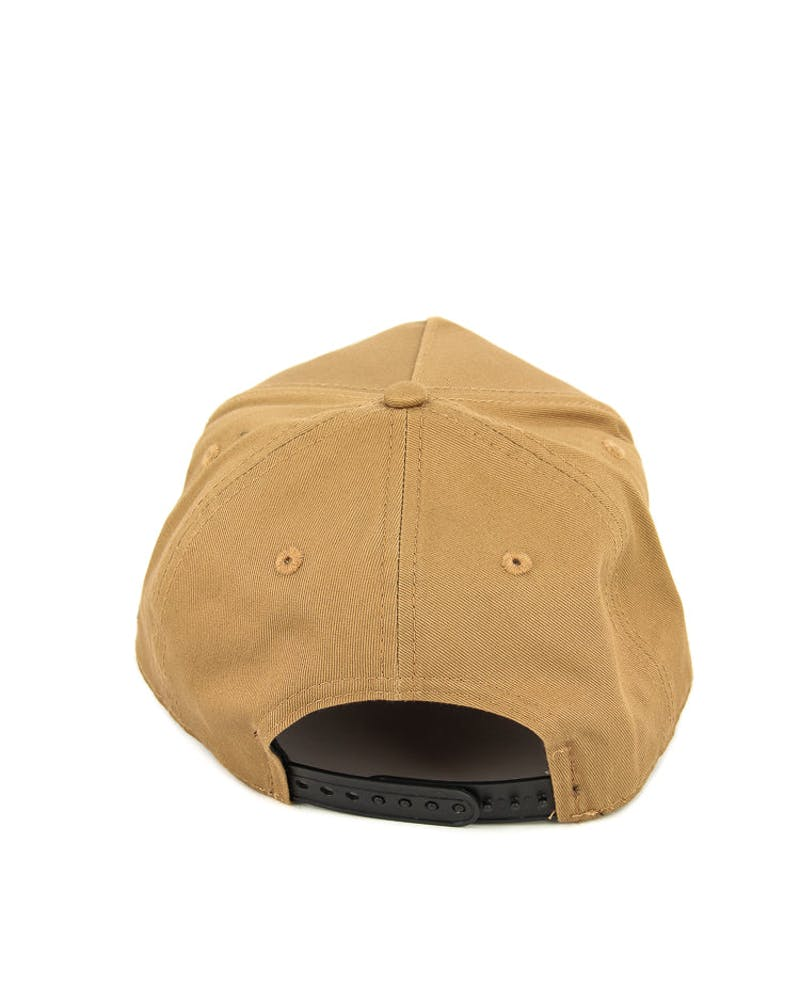 New Era Raiders 9FORTY A-Frame Snapback Wheat/black