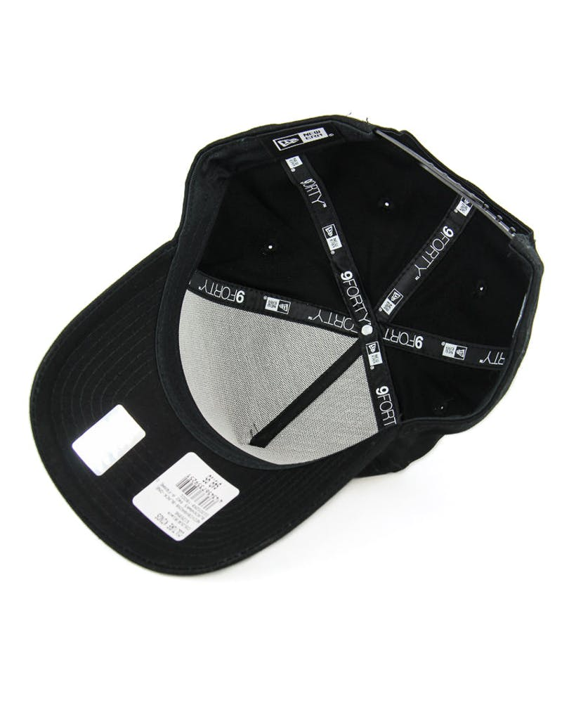New Era Blackhawks 9FORTY A-Frame Gel Snapback Black