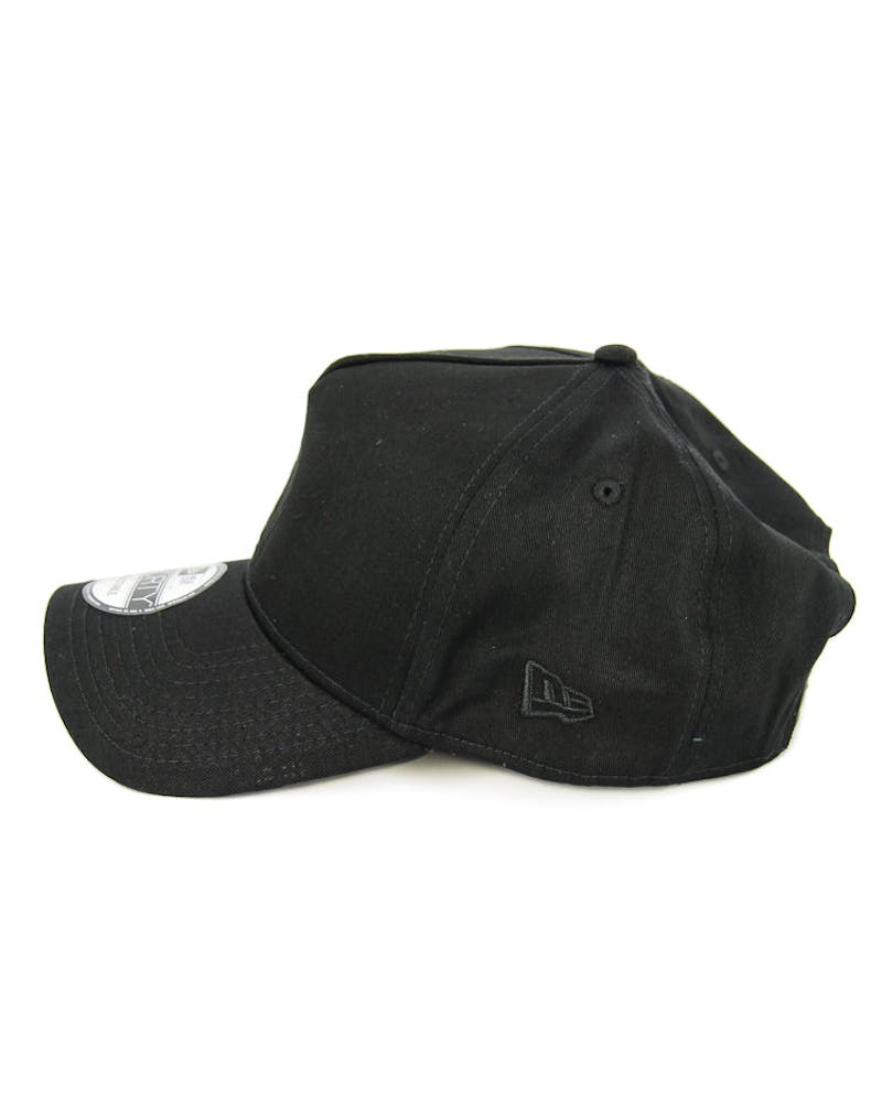 New Era Bulls 9FORTY A-Frame Gel Snapback Black