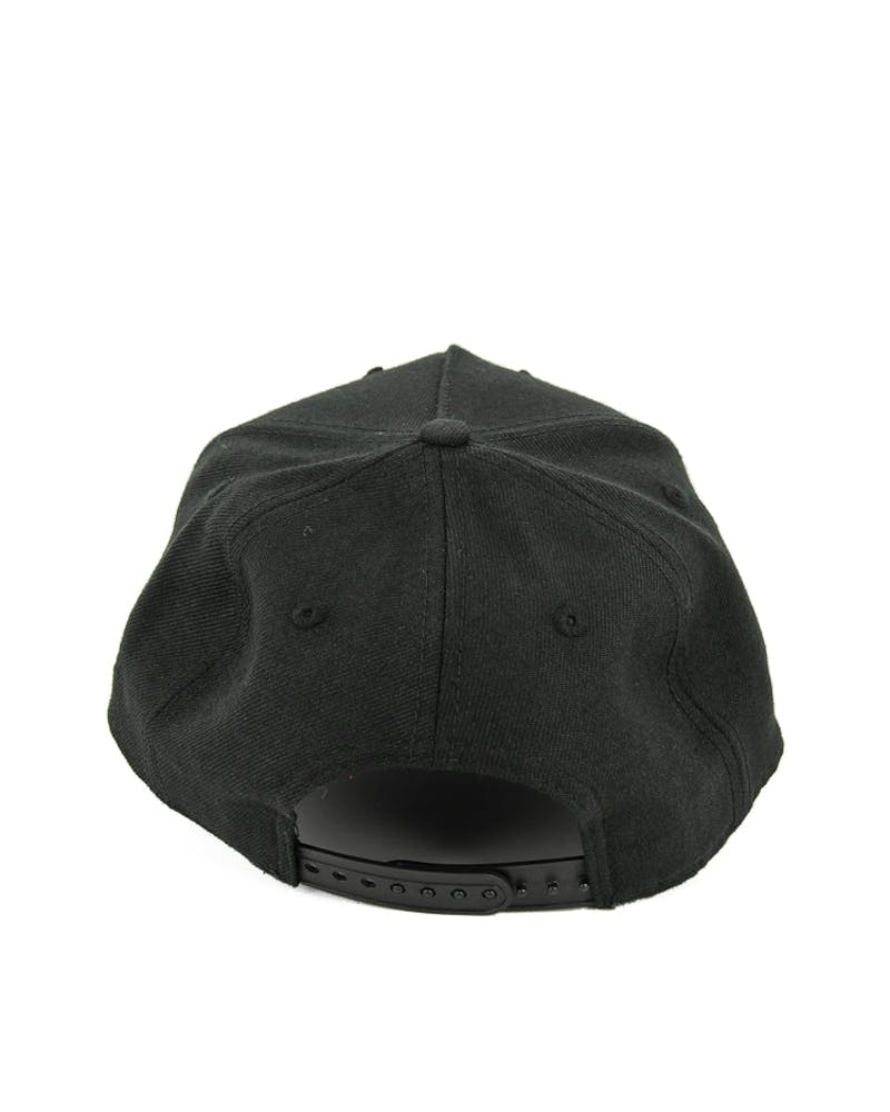 New Era Bulls Grey UV 9FORTY A-Frame Snapback Black/grey