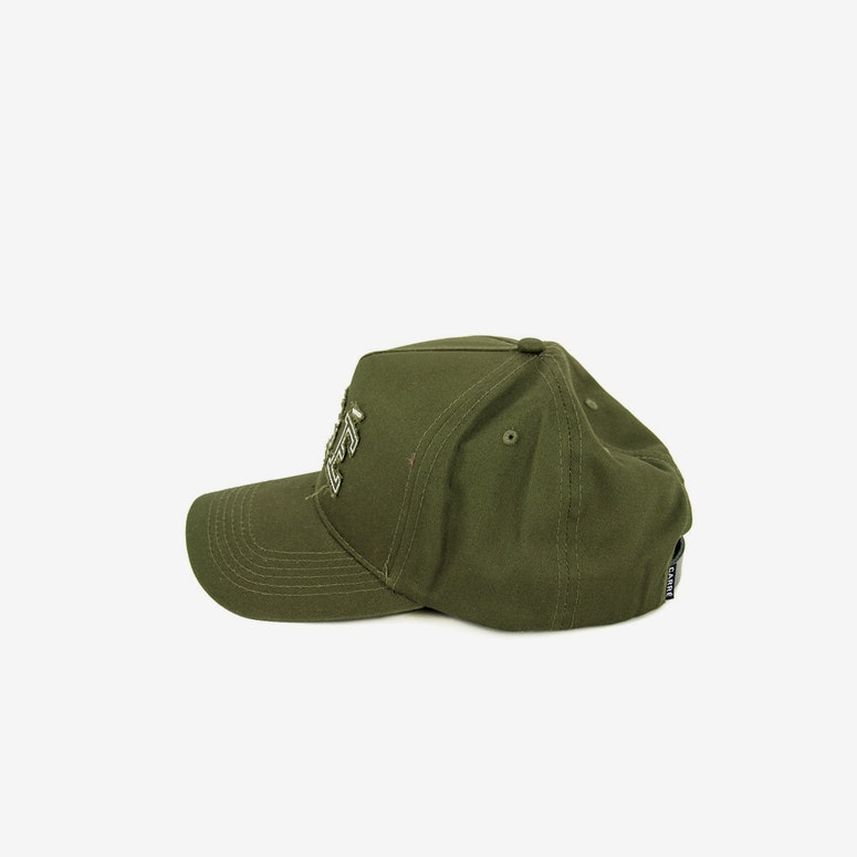 Team Precurved Strapback Olive