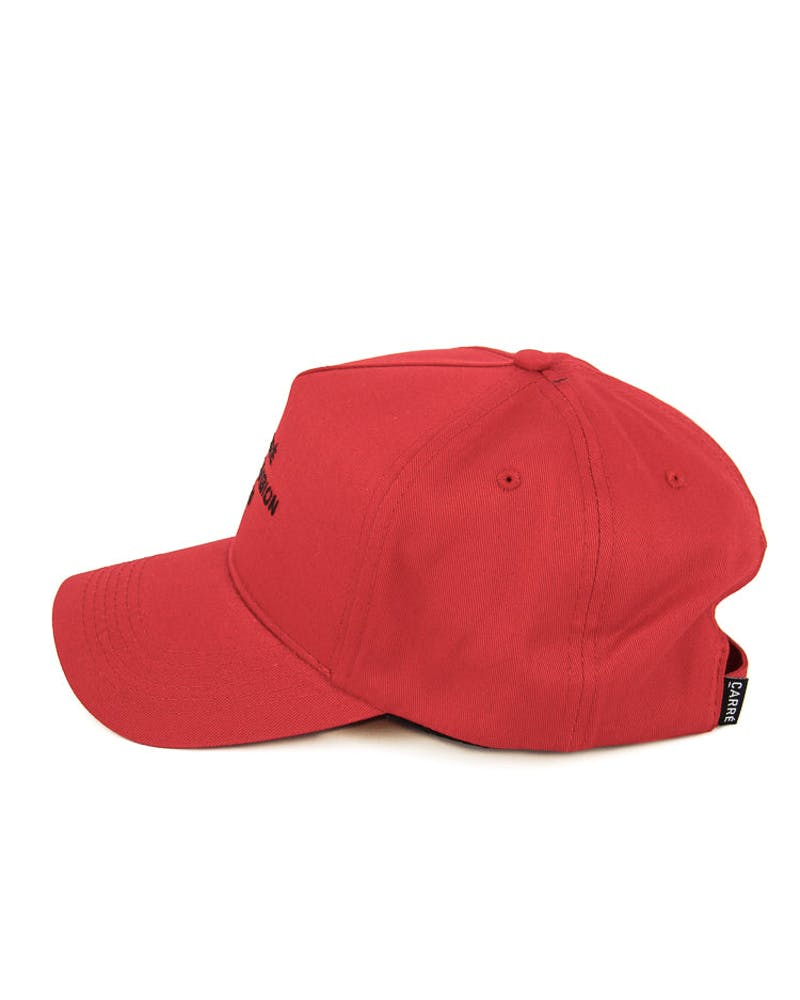 Paris Division Strapback Red