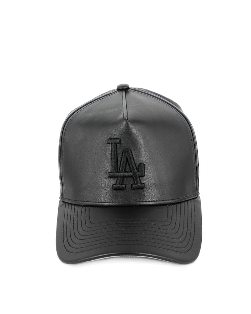 New Era Dodgers 9FORTY A-Frame PU Snapback Black