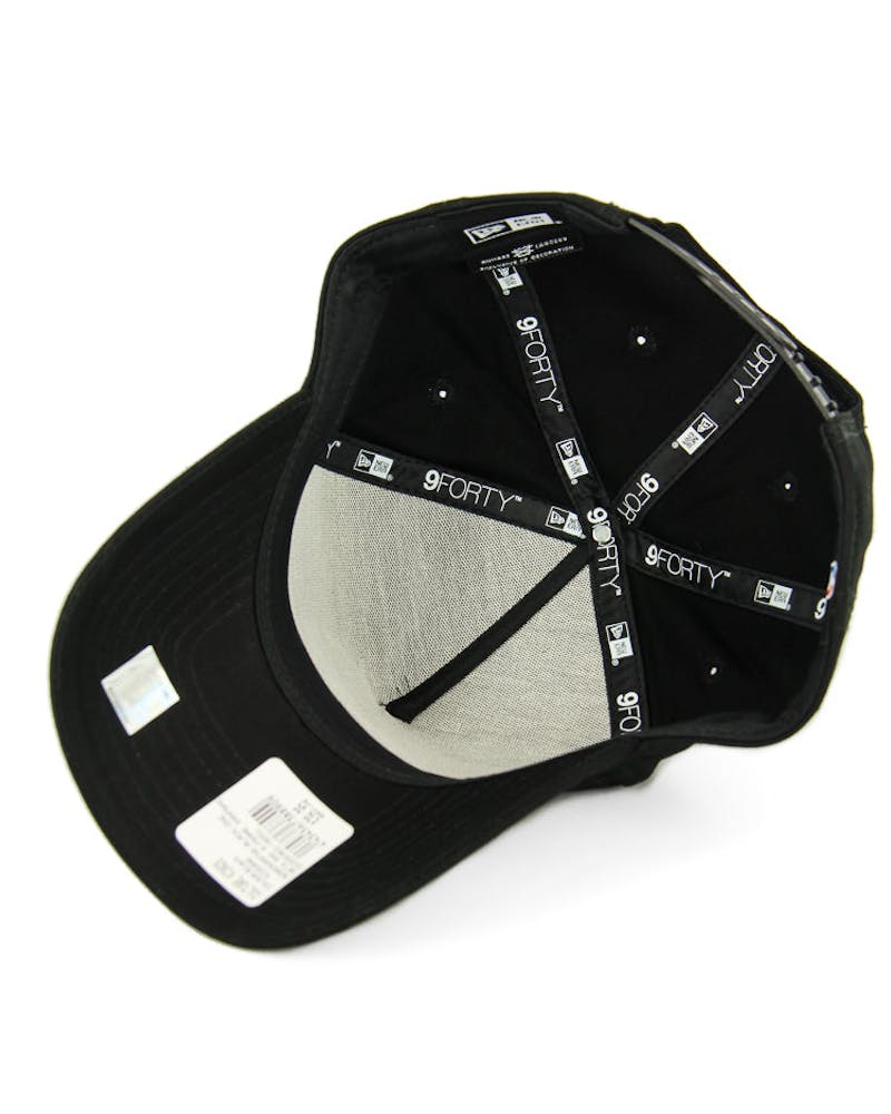 New Era Nets 9FORTY A-Frame Snapback Black
