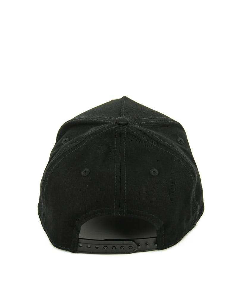 New Era Heat 9FORTY A-Frame Snapback Black