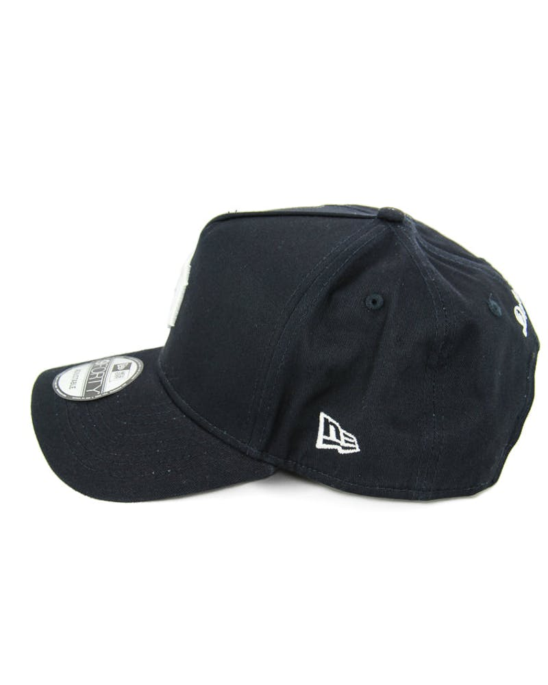 New Era Tigers 9FORTY A-Frame Snapback Navy/white