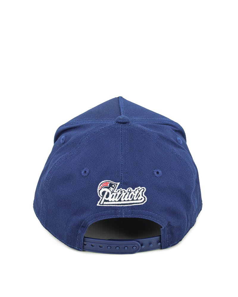 New Era Patriots 9FORTY A-Frame Snapback Blue