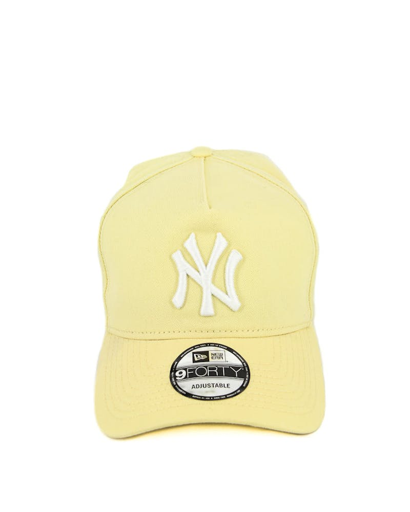 New Era Yankees 9FORTY A-Frame Washed Snapback Yellow/blue