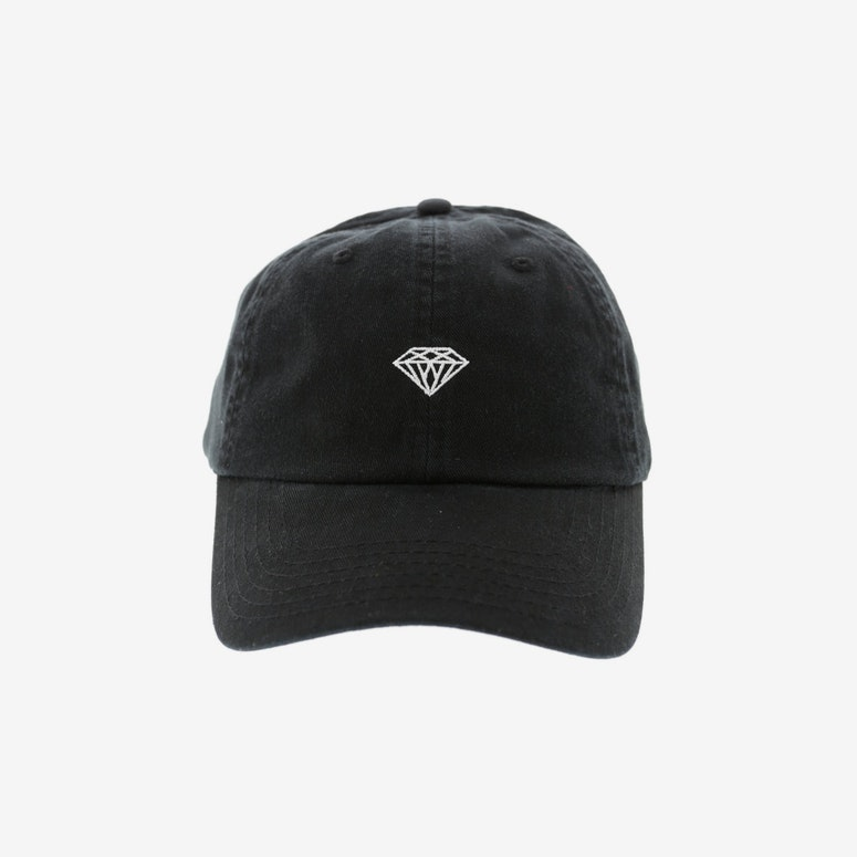 Diamond Supply Micro Brilliant Strapback Black
