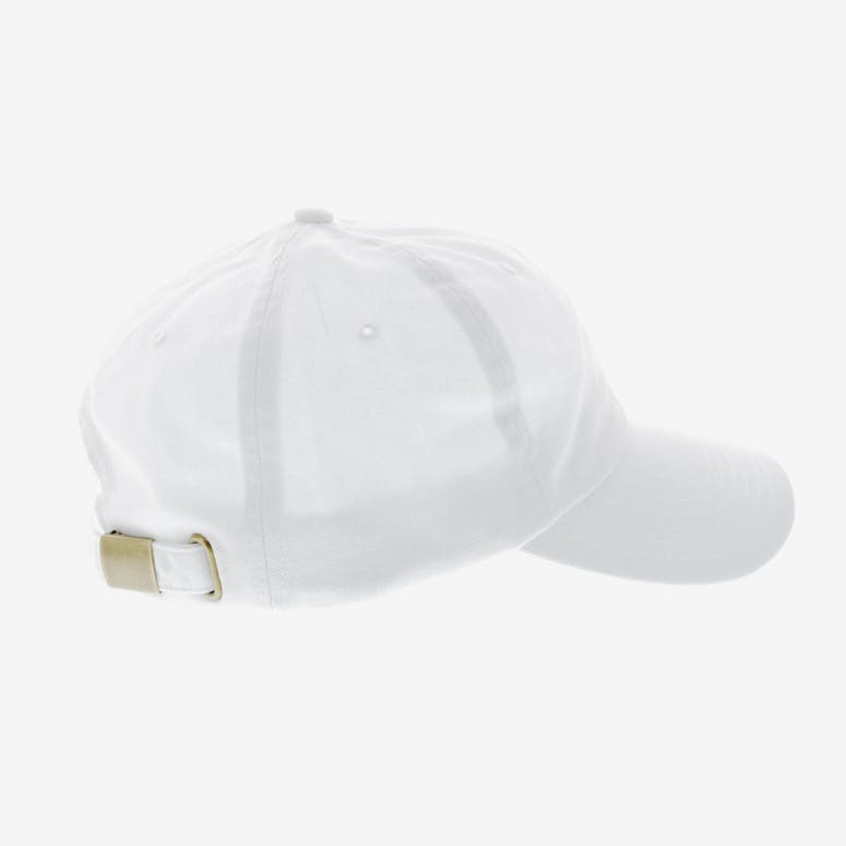 Diamond Supply Micro Brilliant Strapback White