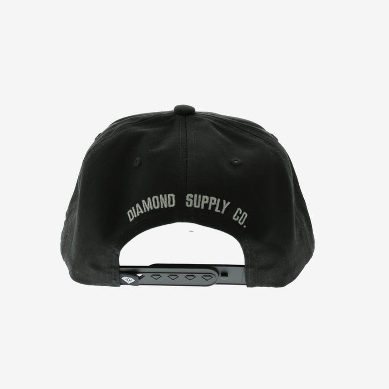 Diamond Supply Brillant Snapback Black