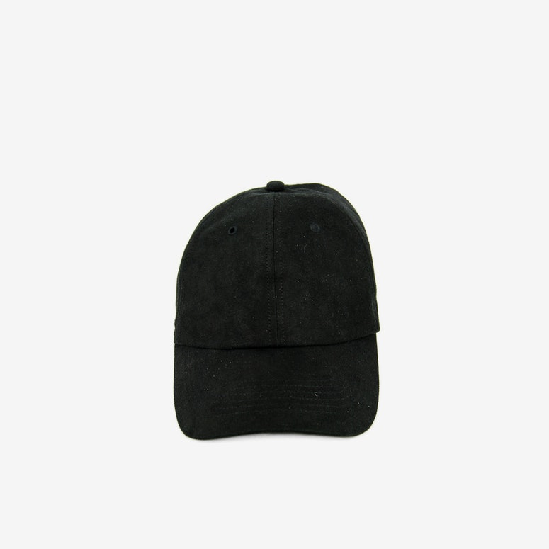 Well Made Take it Slow Suede Strapback Black