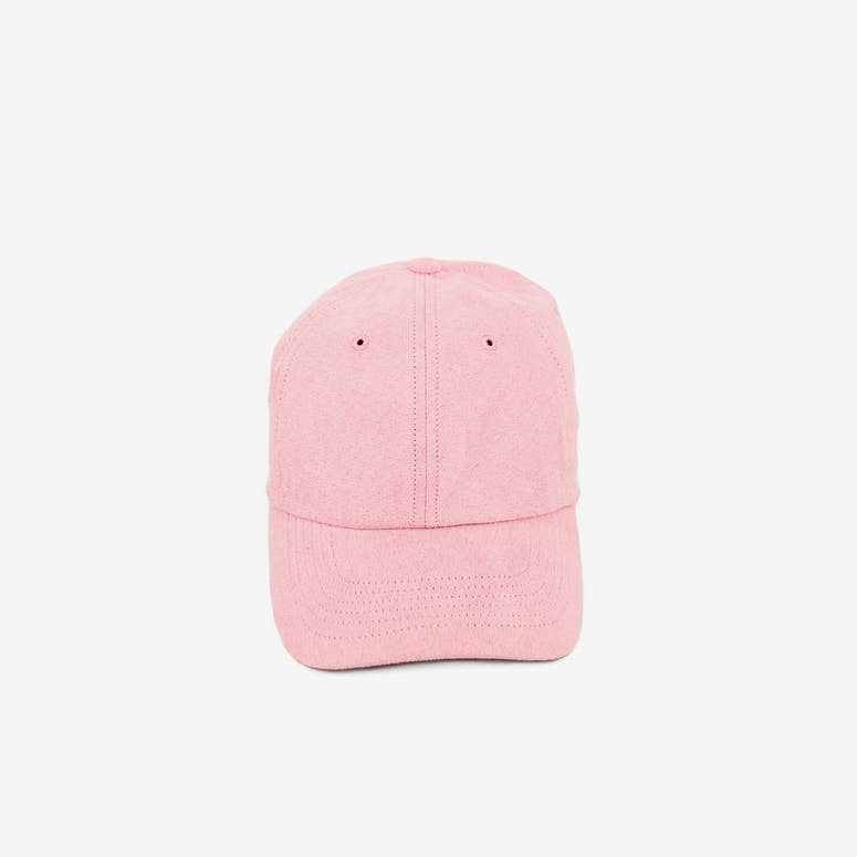 Well Made Take it Slow Suede Strapback Light Pink